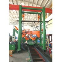 Quality 0.5m / min High Mast Pole Shut Welding Machine Model Hm1600/16000 wholesale