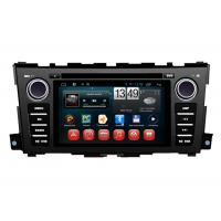 Quality Nissan Teana 2014 Car GPS Navigation System Capacitive Touch Panel Android 4.1 wholesale