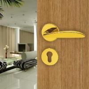 China Zinc Alloy Door Lever (1283Y-PVD) on sale