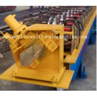 Quality Half-round Seamless Gutter Roll Forming Machine High Speed Chain Transmission 16 Stations wholesale
