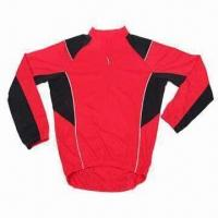 Quality Cycling Jersey with Coolmax Fabric and EN471 Reflective Piping wholesale