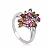Quality High Quality Crystal 100% 925 Silver Jewellery Shiny Rings K-BC-A954 wholesale