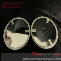 Quality Electroplated diamond cutting discs have very sharp cutting performance and generate minimum heat wholesale