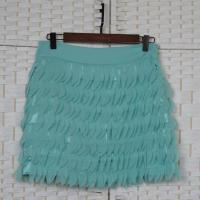China Fashion Multi Layered Mini Chiffon Skirt For Young Ladies OEM ODM Acceptable on sale