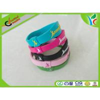 Quality Soft Non-Toxic Silicone Energy Bracelet Colorful Comfortable For Gift wholesale