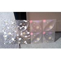 Quality Diaphanous PVC 3D Decorative Wall Panels Light Transmitting For Hall wholesale