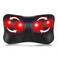Quality Shiatsu Back and Neck Massager Electric Massage Pillow with Heating wholesale
