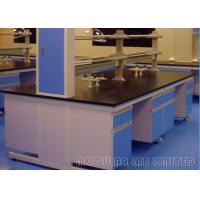 Quality Suspended Structure Modular School Science Laboratory Furniture With Gas Fittings wholesale