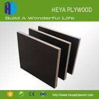 China HEYA low cost phenolic bp black film faced concrete form plywood board on sale