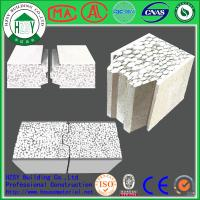 China HZSY 100mm Building Precast Concrete Wall Panels , Internal External precast wall panels on sale