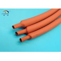 China Fast Shrinking and Low Shrink Temperature Heat Shrinkable Tubing 2:1 Flexible 4.8/2.4 RED on sale