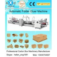 Quality Automatic Folder Gluer Carton Packaging Machinery 14.5KW 380V 50HZ , 3 Phase wholesale