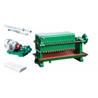Quality Decolorization Oil Filter Press Machine With Motor Electronic Control System wholesale