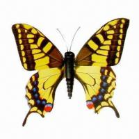 China Butterfly-shaped Fridge Magnet, Various Colors are Available, Customized Orders are Welcome  on sale
