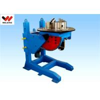 Quality Lifting Height Adjustable Pipe Welding Rotary Positioner High Precision 300kg Manual Revolve wholesale