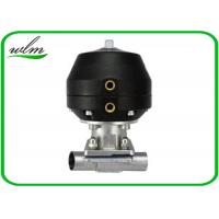 Quality Hygiene Degree Straight  Sanitary Diaphragm Valve For Dairy Beer Chemical wholesale