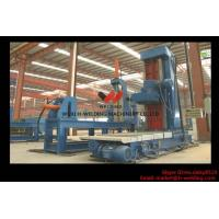 Cheap Automatic End Face Milling Machine 6KW 1200mm * 1500mm for H Beam / Box Beam for sale