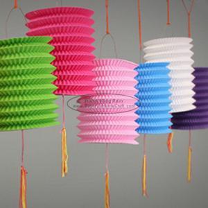 Cheap 15 Cm Spring Garland Paper Lanterns Craft Diy Portable Handmade Christmas for sale