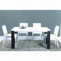 Quality Dining Table with MDF, Glossy Paint and Walnut wholesale