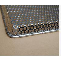 Buy cheap Customized Stainless Steel Perforated Tray,for drying, freezing, baking and from wholesalers