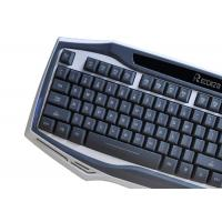 Cheap USB Wired Multimedia Gaming Computer Keyboard 104 Keys OEM / ODM for sale