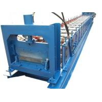 Buy cheap 1.2mm Thickness Anode plate roll forming machine PLC control with Punching System product