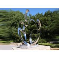 Quality Custom Size Stainless Steel Sculpture For City Decoration OEM / ODM Acceptable wholesale