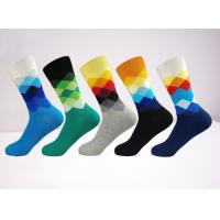 Quality Fashion Happy Men Socks , Assorted Colorful Premium Cotton Sock For Women wholesale