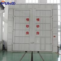 Cheap Large Scale Industrial Sand Blasting Room Flexible Layout For Locomotive Industry for sale