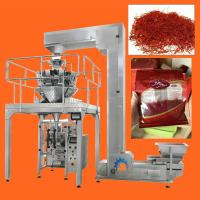 Quality High Speed Multihead Weigher Automatic Packing Machine For Dried Saffron , Cranberries , Fruit wholesale