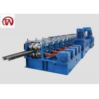 Quality Metal Construction Highway Guardrail Roll Forming Machine 3 Waves Gear Box wholesale