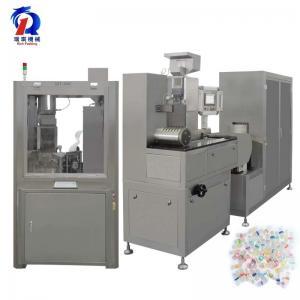 China SGS Automatic Oil Filler Gelatin Capsule Liquid Filling Machine on sale