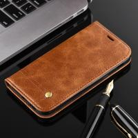 Quality Oily Vintage Samsung A3 Leather Case , Retro Line Cell Phone Leather Wallet Case wholesale