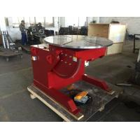 Quality 1000 Kg Capacity Tilting Rotating Welding Table With Hand Control / Foot Pedal Control wholesale