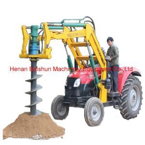Quality Pole Erecting Auger Hydraulic Power Pole Erection Drilling Machine wholesale