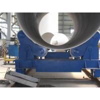 Quality 20T Self Aligning Pipe Welding Rollers Hydraulic Bending Machine With Moving Wheels wholesale