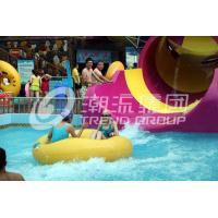 Quality Children waterslide above ground pool water slide for family interactive water play wholesale