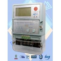 China Automated Reading Commercial Electric Meter , Three Phase Electricity Meter on sale