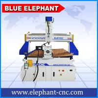 Quality BLUE ELEPHANT CNC Machine Price List Multi-purpose CNC Wood Engraving Machinery 1122 with Rotary Device on the Table Sur wholesale