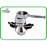 Quality Butt Weld Stainless Steel Sample Valve Sanitary Smooth Surface , Manual Joystick Operation wholesale