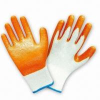 Quality Latex-coated Gloves for Construction wholesale