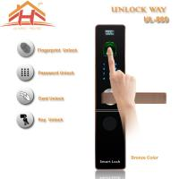 Quality Contactless Biometric Fingerprint Door Lock with IC Card Read wholesale