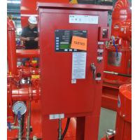 China High Precision Diesel Fire Pump Control Panel For Fire Fighting UL / FM Approved on sale