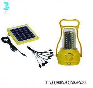 Quality Waterproof Solar Powered Camping Lights Solar Panel Lantern 2 Years Warranty wholesale