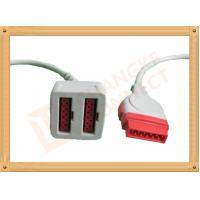 Quality 11 Pin To 11 Pin GE Dual IBP Cable / IBP Converter Cable 35CM wholesale