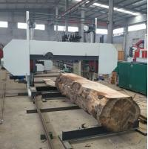 Quality Heavy Duty  Big Size Wood Cutting Band Saw Mills Horizontal Large Sawmill wholesale