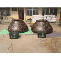 Quality Military Emergency Storage Tarpaulin Water Tank  Camo Color 5000L Volume wholesale