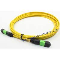Quality Ribbon Fan Out MPO Multimode Fiber Optic Patch Cord Assembly FTTX wholesale