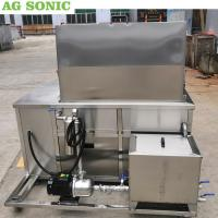 Quality Stainless Steel Ultrasonic Engine Cleaner 28khz Frequency With Oil Filtration System wholesale