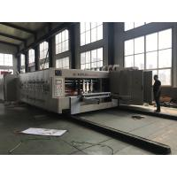 Quality Automatic Corrugated Box Printing Slotting Machine / Box Printing Machine wholesale